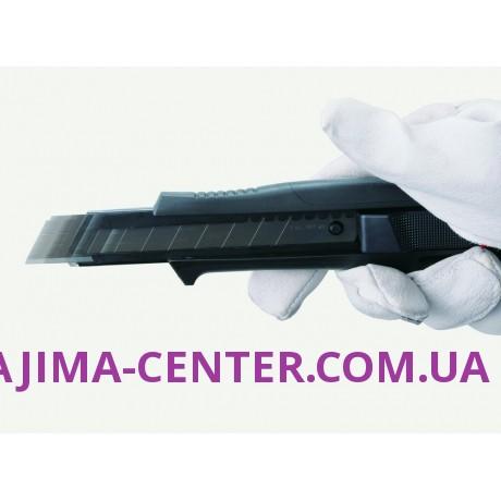Ніж сегментний 18мм, TAJIMA Quick Back DFC569B, автоматичний фіксатор ,подвійної дії