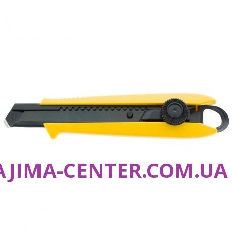 Ніж сегментний 18мм TAJIMA Driver Cutter DC501YB, гвинтовий фіксатор