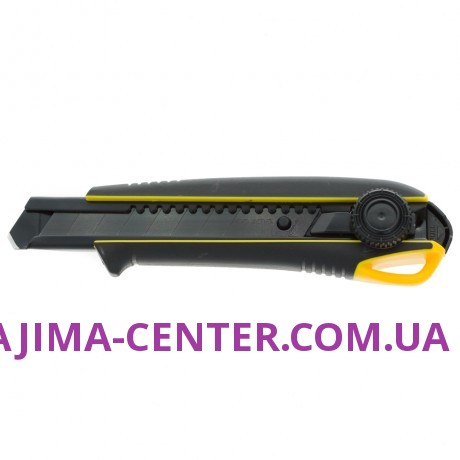 Ніж сегментний 18мм TAJIMA Driver Cutter Elastomere DC561YB, гвинтовий фіксатор