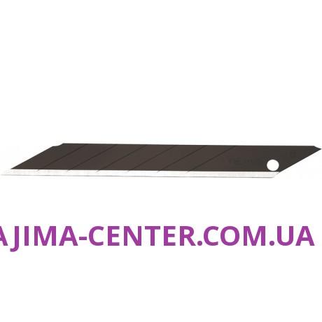 Леза сегментні Premium 9мм TAJIMA Acute Angle Razar Black Blades CB39RB кут нахилу 30°, 10 шт.