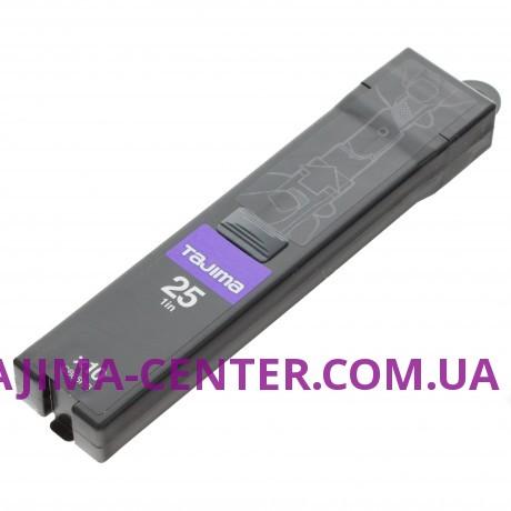 Сегментні леза Premium 25 мм  TAJIMA DORA  Razar Black Blades CB65RB, 10 шт