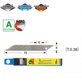 Леза сегментні 9мм TAJIMA Acute Angle Endura Blade LB39H кут нахилу 30°, 10 шт.