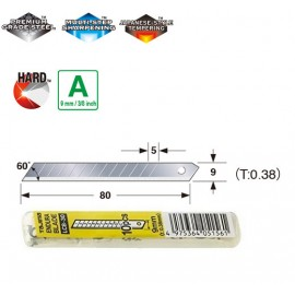 Леза сегментні 9мм TAJIMA Endura-Blade LB30S, економ упаковка, 10 шт.