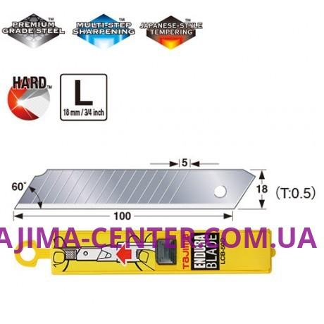 Леза міні-сегментні 18мм TAJIMA Max Point Endura Blades LB50DH, 10 шт.