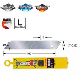 Леза сегментні 18мм TAJIMA Endura Blades LCB50, 10 шт.