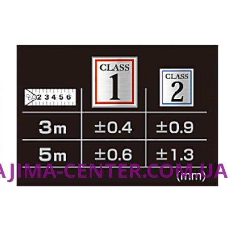 Рулетка прецизійна 1 клас, TAJIMA Hi Lock CLASS 1, H1550MW - 5м×25мм