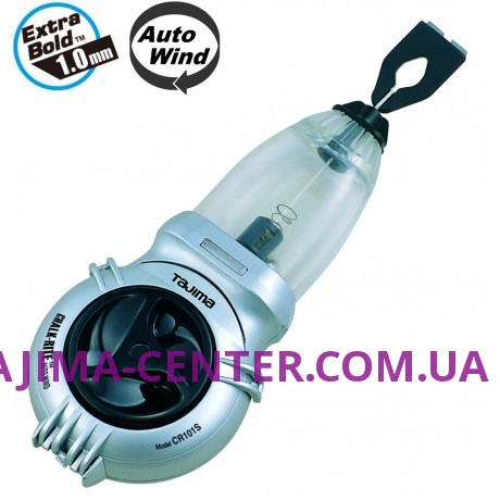 Шнур для розмітки, автоматичне змотування, 25м TAJIMA, Auto Wind, CR101S