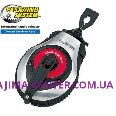 Шнур для розмітки 30м TAJIMA, CHALK-RITE DURA, CR401S/D